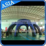 Inflatable marquee dome tent for car garage, Dome shape inflatable air structure building for temportary exhibition