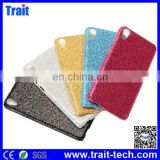 Shining Glitter Powder Leather Coated PC Hard Case for HTC Desire 826