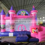 New commercial inflatable pink house bounce inflatable pink jumper for children