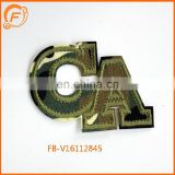 ArmyGreen CA Embroidery Patch Designs Custom Badge For clothing