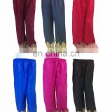 Latest Embroidery Design Rayon Free Size Palazzo Pants (5 Color Available)