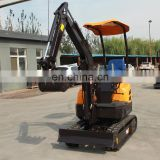 Chinese high quality mini excavator for sale used in farm