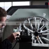 Special design alloy wheel repair cnc lathe machine AWR2840