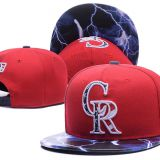 Colorado Rockies Snapback Cap