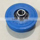 Escalator step roller with axle 76*22*12.7