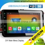 "Erisin ES2802V 8"" Car Radio 2 Din Android 4.4.4 GPS 3G WiFi Bluetooth for Jetta Golf 5 6"