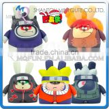Mini Qute diy Mask Bear 6.5cm Kawaii boys plastic reloading Naruto Anime action figures Cartoon toy car Decoration dolls model