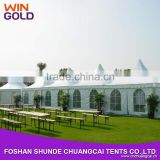2015 frame structures 2040 pvc pagoda party tent for reception                                                                         Quality Choice