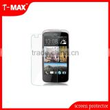 OEM manufacturer top quality high transparency tempered glass screen guard for htc desire 500