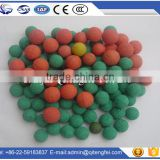 Made in China soft medium tube high density foam cleaning concrete pump balls