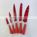 5pcs stainless steel flower printing knife