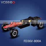 VCEEGO factory remote contact two wheel electric skateboard with soild military tire wholesales price