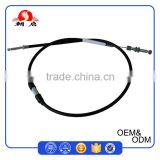 1070mm Long 7.0mm Black PVC Outer Housing 2.0mm Steel Wire Inner High Quality Clutch Cable