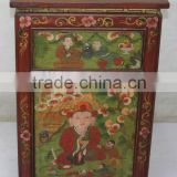 Chinese Antique Furniture /One Drawer Single Door Tibetan Cabinet/ Reproduction Furniture