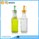 Wholesale 160/270/500ml glass oil bottle glass jar storage wine cooking oil and beverage