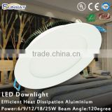 New Items 3 years warranty 15W round led downlight cob led downlight led downlight housing