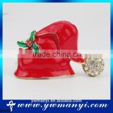 Wholesale Hot Selling Christmas Gifts New Christmas Decorations China Brooch Red Brooches B0486