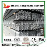 steel angle iron with holes weights q235q345china manufacturer