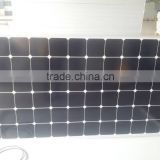 high efficiency Sunpower mono-crystalline cells solar panel 80W with TUV CE SGS Conversion rate 18%