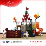 LLDPE plastic galvanization pipe outdoor playground pirate ship                                                                         Quality Choice