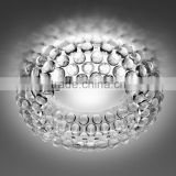 Popular Transparent LED Caboche Ceiling Lights with Acrylic Material for Home Decorative