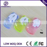 Creative design light up computer mouse wireless transparent                                                                         Quality Choice