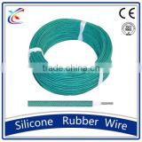 High quality tinned copper Fire resistance high temperature UL fiberglass braided heat resistant silicone rubber wire