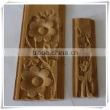 best selling products hand carved decorative wood window frame wood caving window frame antique wood carved window frame