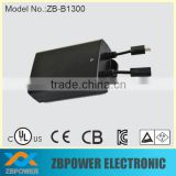 25.2V Rechargeable Portable Li-ion Battery Pack,1300mAh Accu Pack with UL,CE,CB,TUV,PSE,KC Certificate