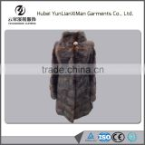 latest winter coat black mink fur women