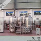 500 L three vessel electric heating method used brewing systems for sale