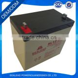 wholesale computer 12V 55Ah stanby power battery