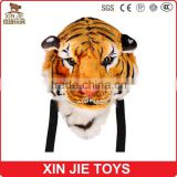 customize plush tiger bag soft tiger backpack hot plush animal backpack                                                                         Quality Choice