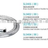 flexible extension stainless steel shower hose
