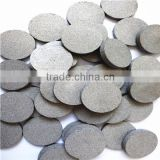 0.5-100 microns Powder Sintering Brass Bronze SS Metal Disc Filter