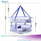 Mesh drying rack laundry clothes drying Folding Metal