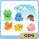Lovely bath playing animals spray water toys