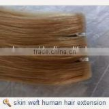 double drawn double sided skin weft remy hair human hair extension