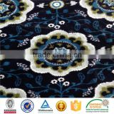 100%polyester plush toy printed pv plush fabric for blanket carpet home textile