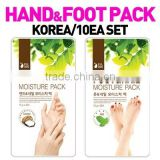 [SG delivery/10ea set/Hand/foot moisture pack]Korea hit!/Mask pack