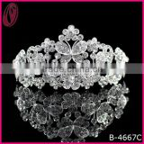 New Coming Star Diamond Butterfly Tiara And Crown For Bridal