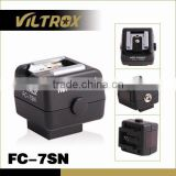 VILTROX FC-7SN Hot Shoe Adapter for Canon/Nikon flashes for Sony Camera