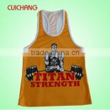 Sublimated running singlet&sublimated singlet&cheap sublimated wrestling singlets CC-555