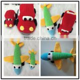 Handmade customized Stuffed crochet baby toys in 2015.