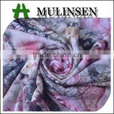 Mulinsen textile FDY digital printed quick dry polyester fabric/ beautiful fabric for dresses
