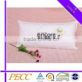 Hotel Pillow Soft Shell Polyester Filled Embroidered Teflon Furniture Pads