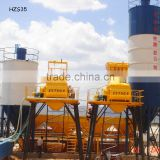 Concrete mixing plant HZS35 with electric concrete mixing machine JS750                                                                         Quality Choice