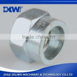 carbon steel hydraulic fitting hex coupling nut                                                                                                         Supplier's Choice