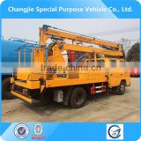 New arrival factory sale good quality dongfeng 4x2 14m aerial work platform vehicle,aerial operation truck