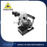 Fable Professional Generation 1st Swing arm type Gem Microscope With F15 binocular lens for checking gem &Jewelry